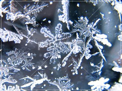 氷の結晶,雪