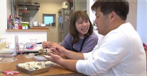 プラスマイナス岩橋良昌の嫁結花と笑顔写真