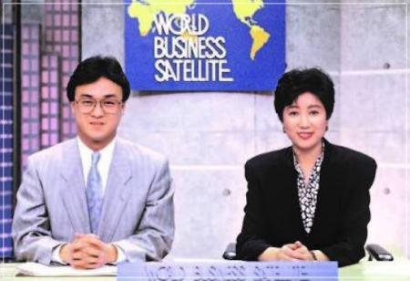ニュースキャスター時代の小池百合子東京都知事で若い頃