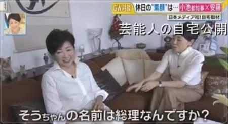 小池百合子都知事のエコだハウスに安藤優子が訪問