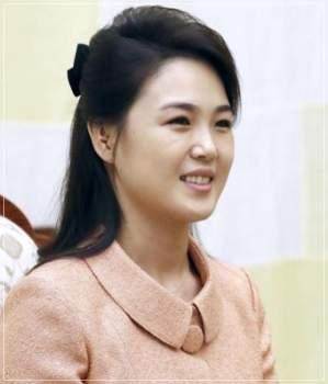 金正恩の嫁・李雪主(リソルジュ)の顔画像