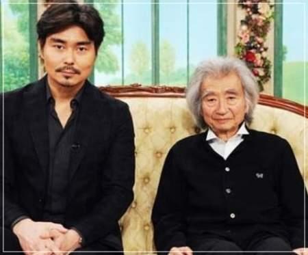 小澤征爾と息子の小澤征悦
