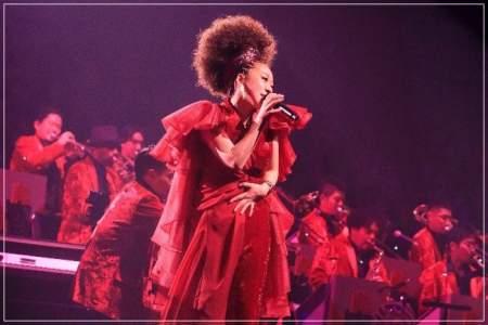 MISIAが歌ってる画像