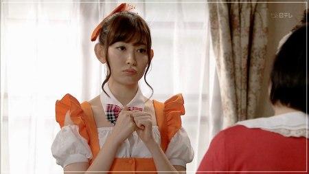 メグたんって魔法が使えるの?で中村倫也と共演した小嶋陽菜のメイド服姿の画像