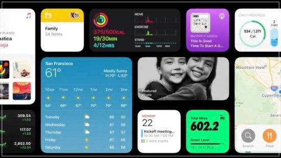 iOS14の解説画像