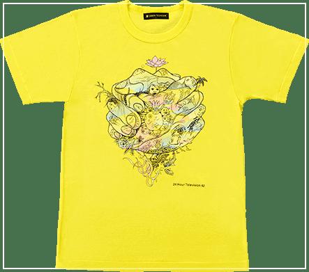 2019年の24時間テレビチャリTシャツデザイン画像
