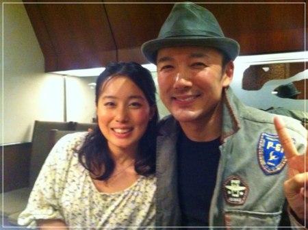 山本太郎議員と元嫁の割鞘朱璃の2ショット画像