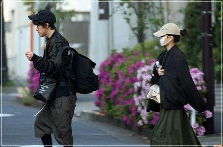前田敦子と旦那・勝地涼の2ショット画像
