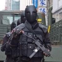 """""""Świat obiegły zdjęcia przerażającej armii NWO z ulic Tajwanu"""""""