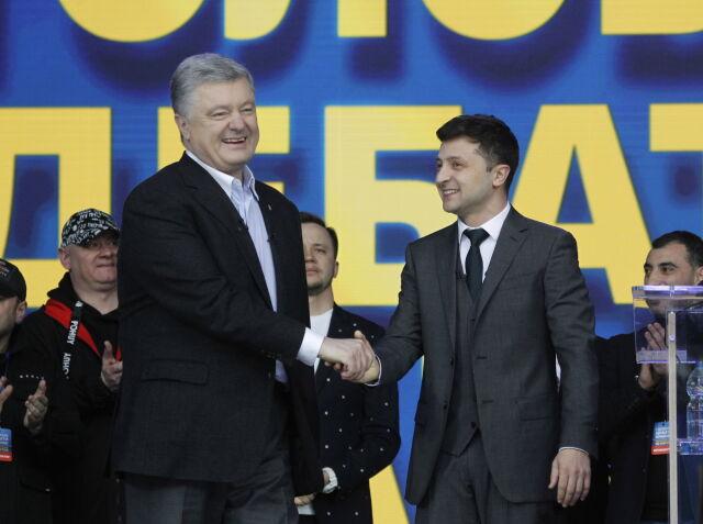 41-letni Wołodymyr Zełenski wygrywa II turę wyborów prezydenckich na Ukrainie