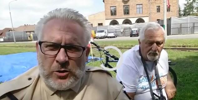 Maciej Poręba z Rosji o wypadkach na Żwirowisku 13VIII2019