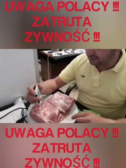 Zatruta żywność w marketach w Polsce !!!