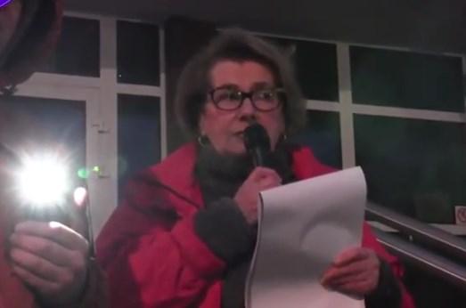 Manifestacja w Kołobrzegu