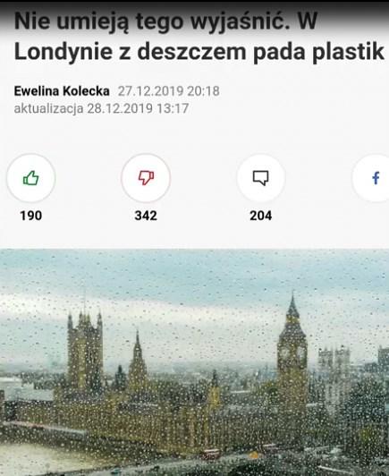 UWAGA WAZNE  Plastik nad Londynem