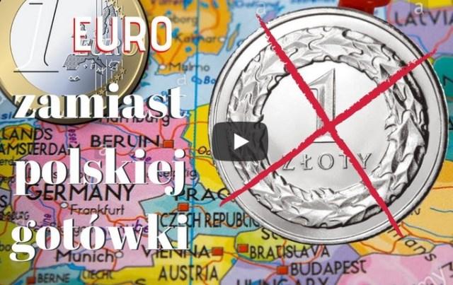 Podstępne wprowadzenie euro w miejsce polskiej gotówki! Gdzie znikną Twoje pieniądze?