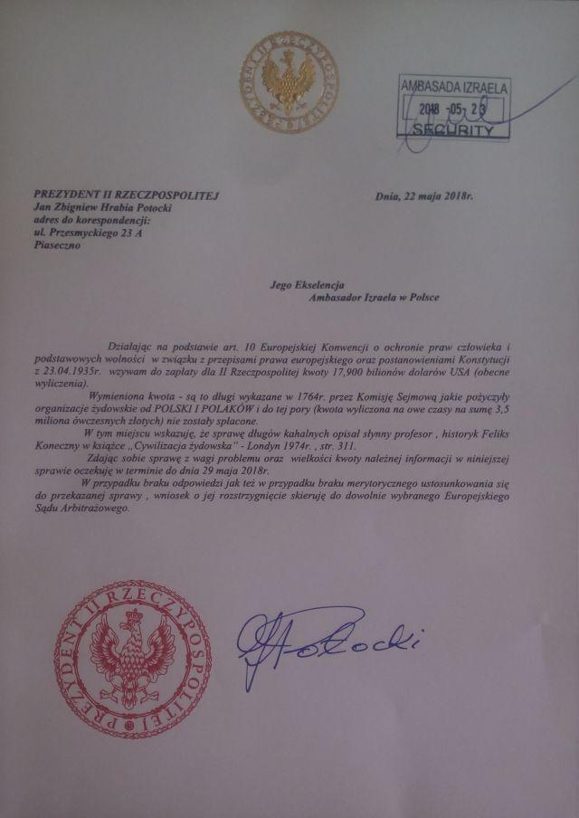 pismo_do_ambasady_izraela