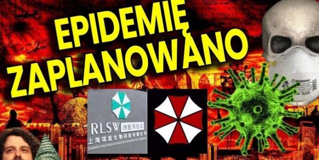Koronowirus Wuhan To Broń Biologiczna a Epidemię Przepowiedziano
