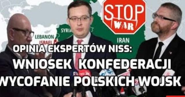 BRAUN i WINNICKI KONFEDERACJA ustawa o wycofaniu polskich wojsk Opinia ekspertów stanowisko Niemiec
