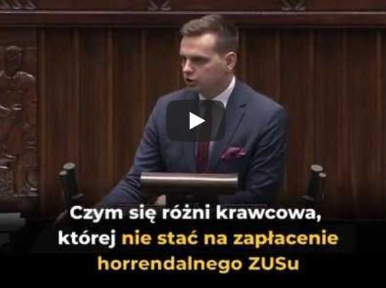 Jakub Kulesza (Konfederacja) – horrendalny ZUS dobija przedsiębiorców!