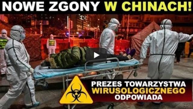 CHINY Miasta odcięte, nowe zgony, trwa walka o każdą godzinę. Najnowsze DANE OKIEM EKSPERTA