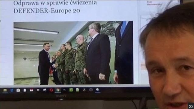 Dr Z. Kękuś (PPP 229) Prezydencie A, Duda, premierze M. Morawiecki, odwołajcie DEFENDER-Europe 20!