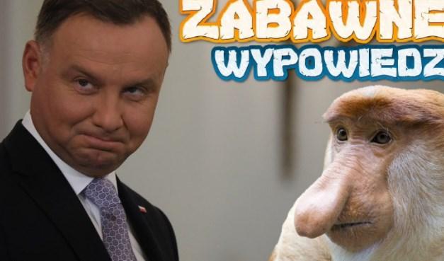Kompilacja Śmieszne Wypowiedzi Andrzeja DUDY • Wyborcy PISU