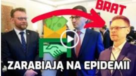 PRZEGIĘLI Brat ministra zarabia miliony na epidemii! – Zbierają się GIGANTYCZNE ODSZKODOWANIA