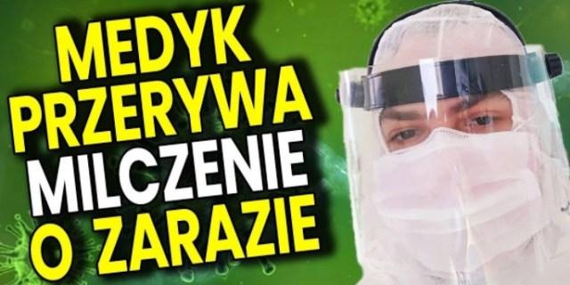 Medyk Przerywa Milczenie o Zarazie – Analiza Komentator PIS Minister Zdrowia Szumowski