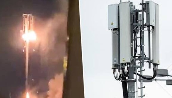 5G tower born around the world 2020