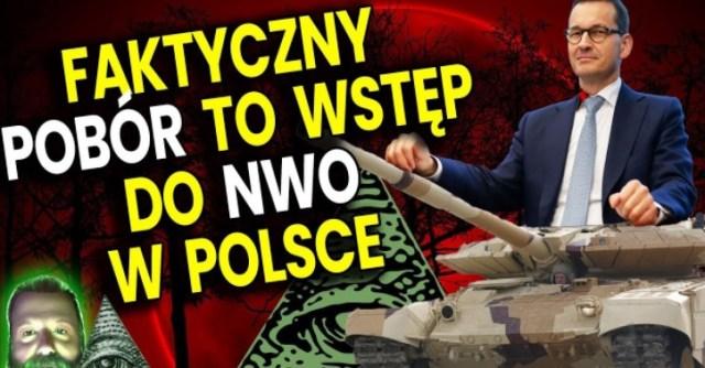 FAKTYCZNY Pobór do Wojska To Wstęp do Dyktatury NWO w Polsce