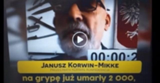 W Polsce na covid- 19 zmarło 200 osób 10 razy mniej niż na grypę! Ministerstwo Zdrowia podaje!