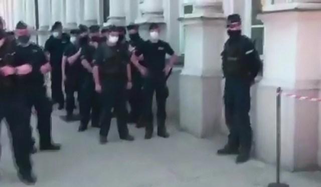 Protest przeciwko przymusowi szczepień – Warszawa 06.06.2020