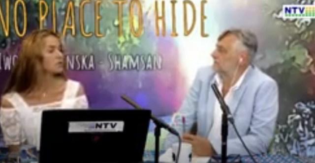 Iwona Gapińska Shamsan w NTV