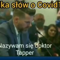 Kilka słów o Covid mówi dr. Tapper -psychologicznej wojnie przeciwko ludzkości  ☀Autor Gabi☀