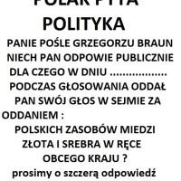"""AKCJA PUBLICZNEGO ZADAWANIA PYTAŃ - POLITYKOM - """"POLAK PYTA POLITYKA"""""""