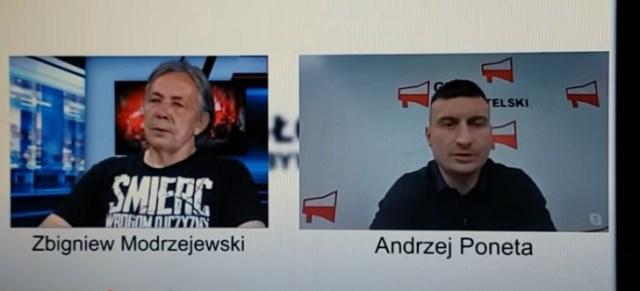 JMN Głos Obywatelski Zbyszek Modrzejewski -Andrzej Poneta .Okowita dla chłopa waliła w banie