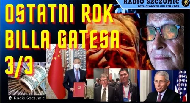 2021-04-01 Gates, Fauci, Soros, ChRL, Rada Europy