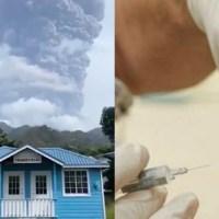 Wybuch wulkanu. Ewakuują tylko osoby zaszczepione na COVID-19 [VIDEO]-