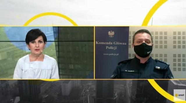 Ciarka o incydencie w Głogowie: nie patrzy się na to, że policjant został opluty, że go szarpano