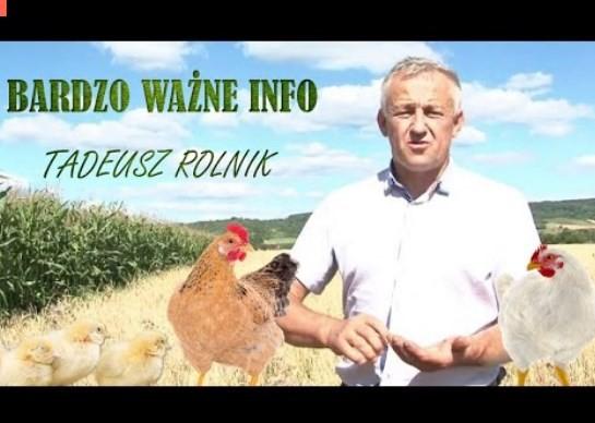 PILNE ! Tadeusz Rolnik – Bardzo ważne informacje z Polski