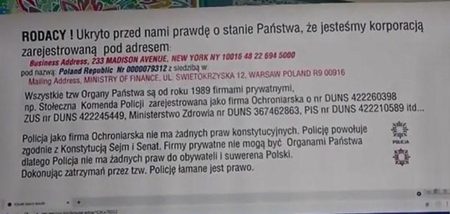 Pouczajcie policję o ich prawach – Jan Taratajcio
