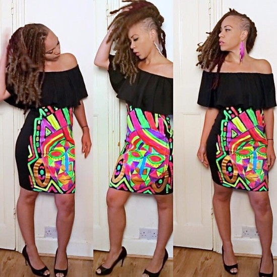 Dress paradise prints