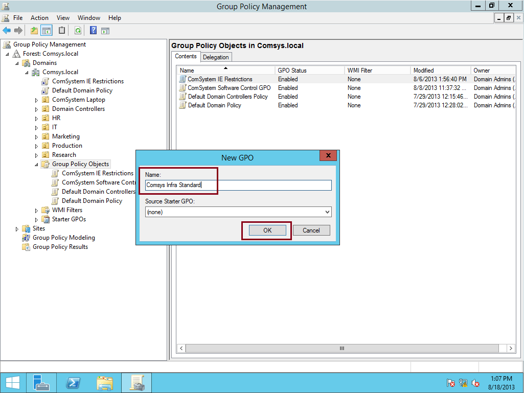 Simple Guide Creating Amp Configure GPO In Windows Server
