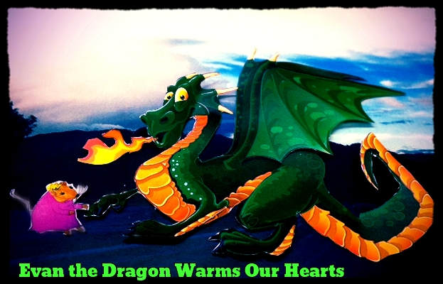 Evan the Dragon and Princess and Melissa the Mouse are copyrighted property of Melissa Reyes 2013