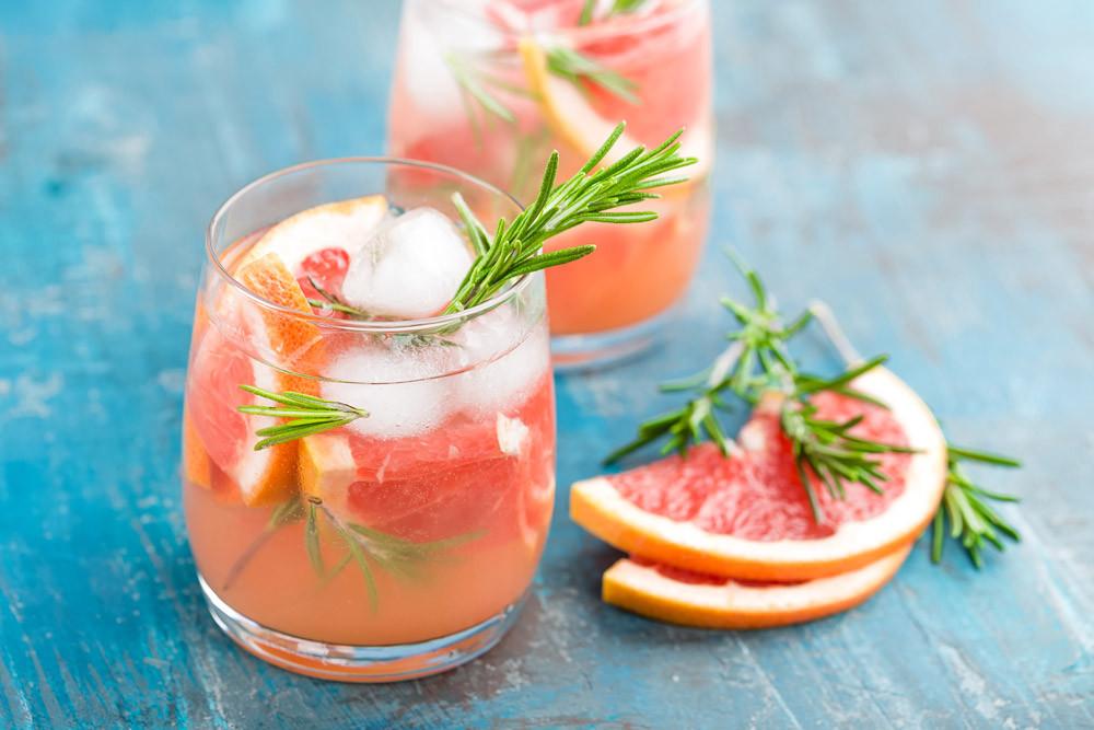 Summer drinks in Delray Beach