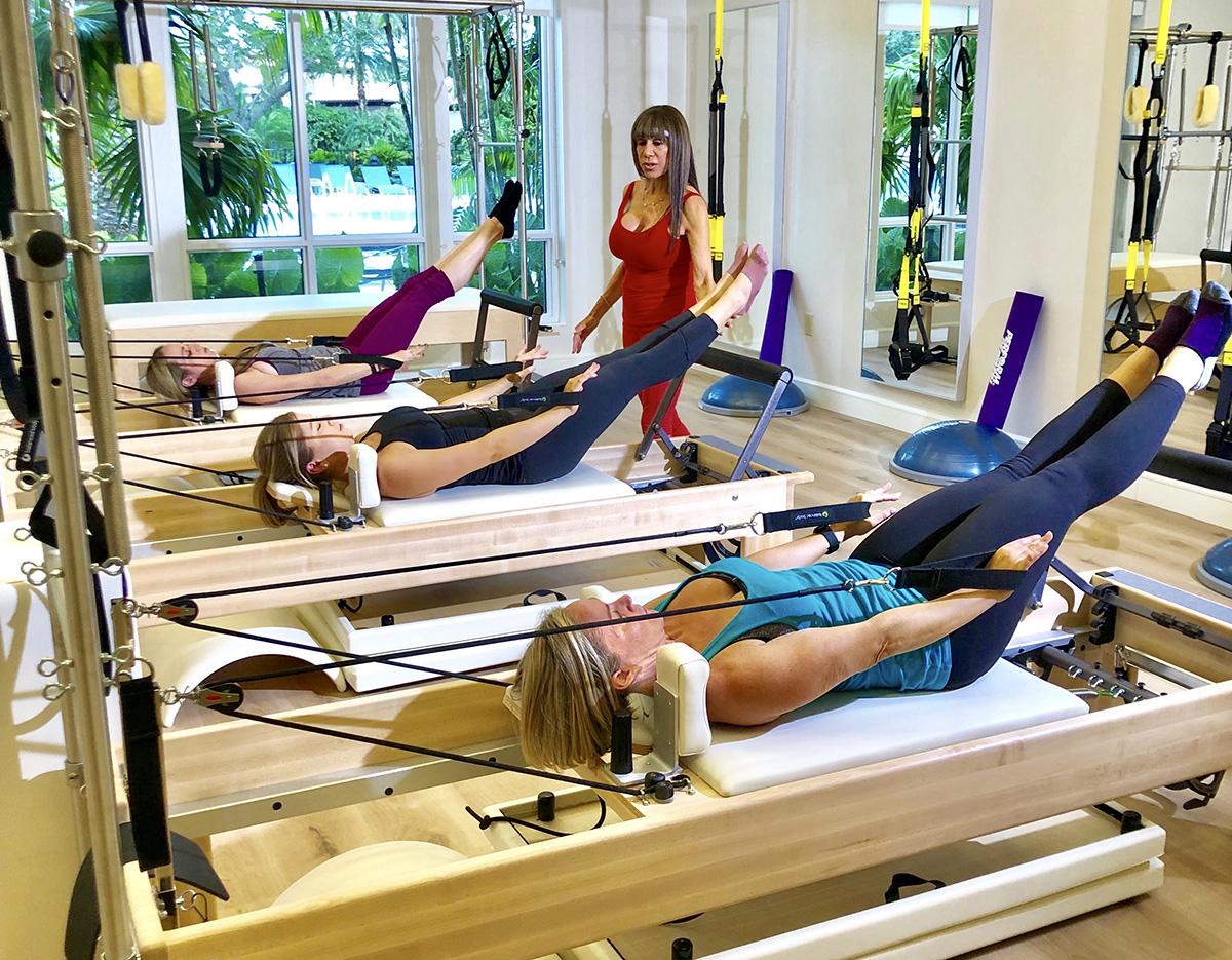Mizner Country Club Pilates Reformer Class
