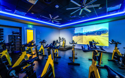 Mizner Country Club Technogym Cycle Room