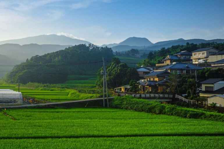 rural area in Japan