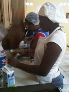 Cake making 10