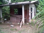 BALANDRA: Trying to complete living space for her family of four. This space does not include toilet facilities.
